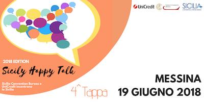 Sicily Happy Talk - Edizione 2018 - MESSINA - 19 giugno