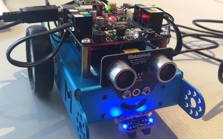 Kostenloser Workshop für Mädchen: Robotics