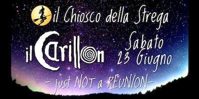 Sabato 23 Giugno ilCarillon LIVE presso il Chiosco della Strega