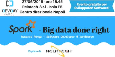 20° DevDay Napoli: Spark - Big data done right