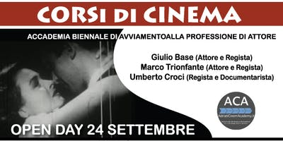 Open Day 24 Settembre 2018 - Adriatic Cinema Academy
