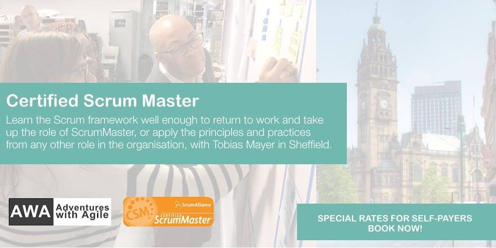 Certified Scrum Master Csm Course From 600 Vat September