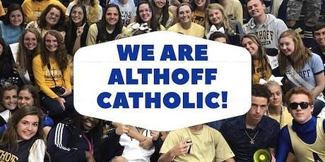 2019 Althoff Catholic Entrance Exam & Practice Entrance Exam tickets