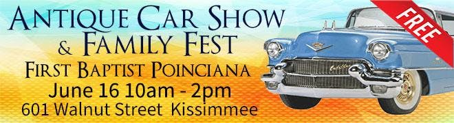 Antique Car Show Family Fest At Walnut St Kissimmee - Kissimmee car show