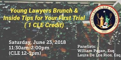 PRBA Young Lawyers Brunch & Inside Tips for Your First Trial (1 CLE Credit)