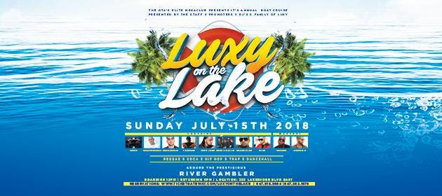 LUXY ON THE LAKE BOAT CRUISE - SUNDAY JULY 15