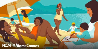 NOM Presents #MomsCannes Beach Playdate