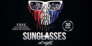 Sunglasses at Night at the Harlot | Free Sunglasses...