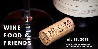 Wine, Food & Friends with Neyers Vineyards