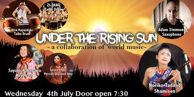 UNDER THE RISING SUN – A COLLABORATION OF WORLD MUSIC