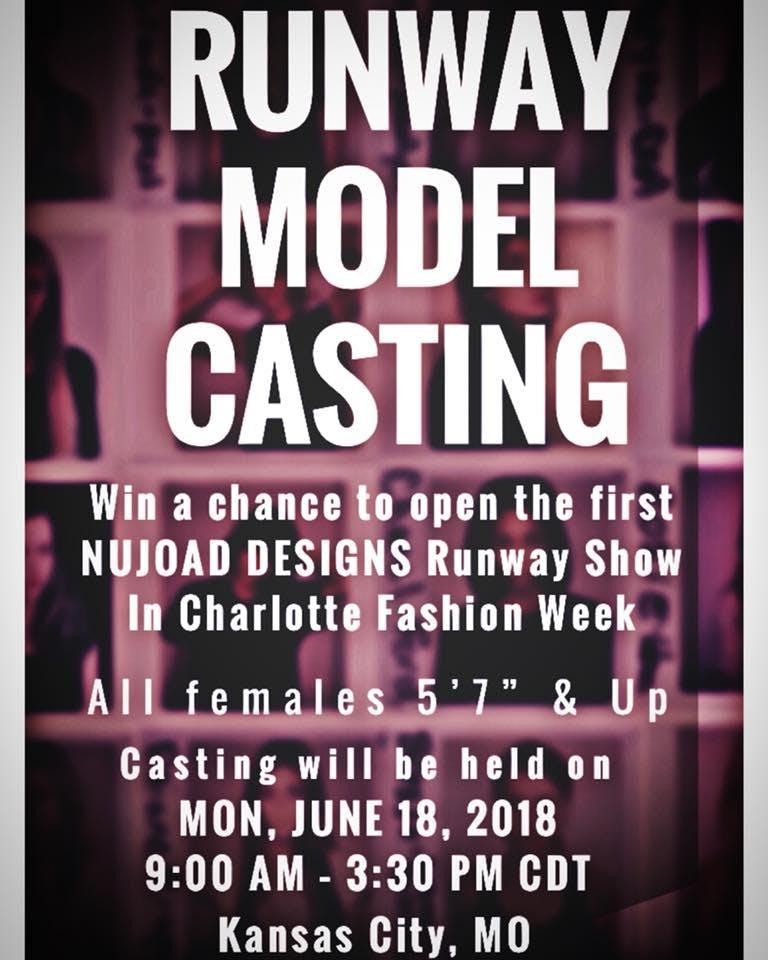 NUJOAD DESIGNS Model Casting Call