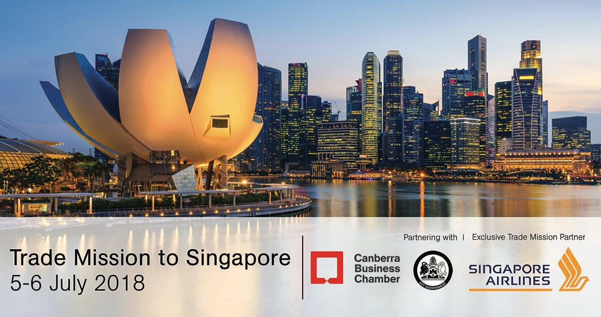 Business Trade Mission to Singapore - 5 to 6 July 2018