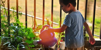 Gardening for Children (session 1 - 10:30am-12noon)
