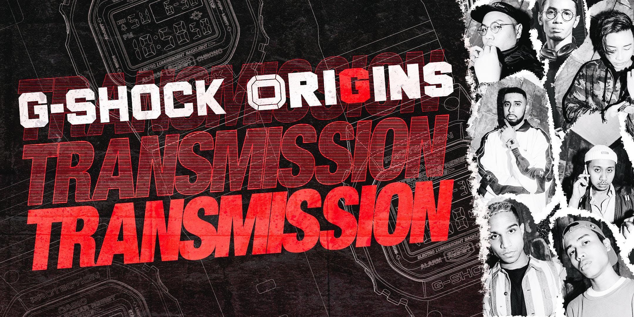 G-SHOCK ORIGINS TRANSMISSION