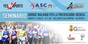 Seminario Nordic Walking per la prevenzione medica