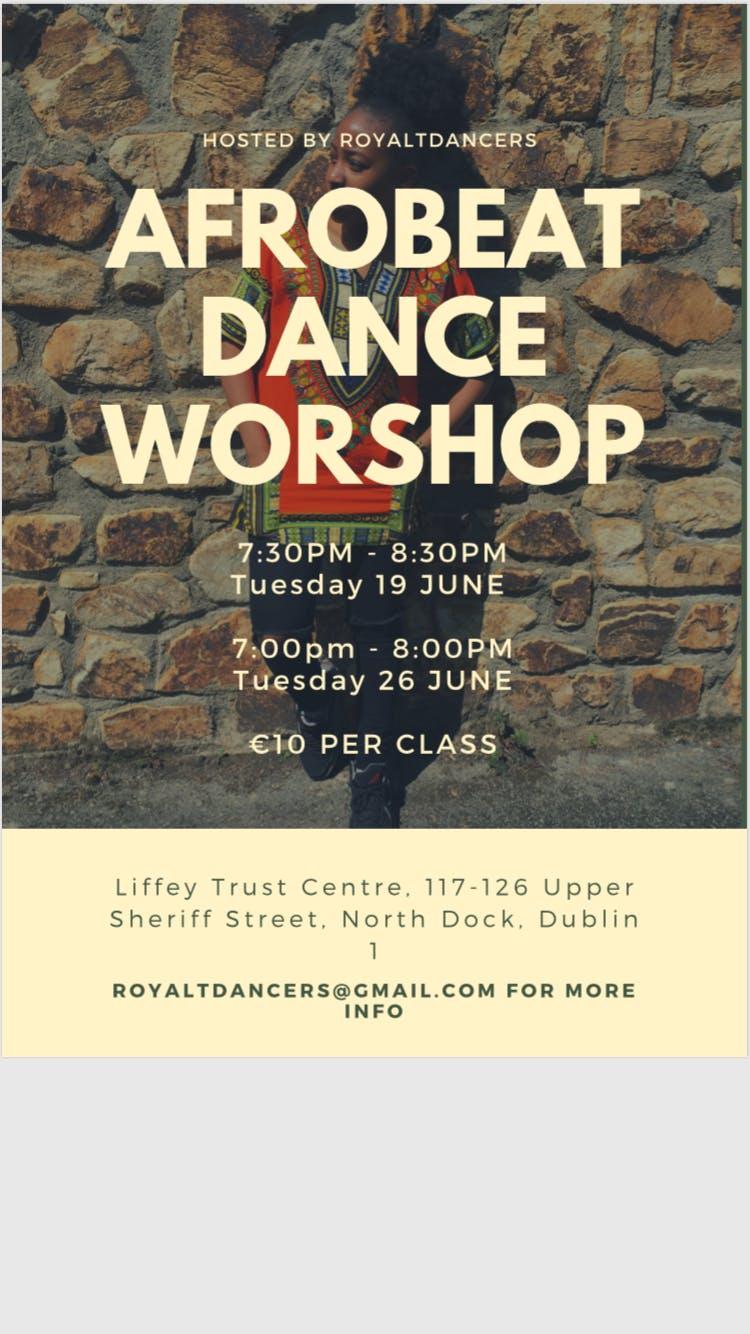Afrobeat Dance Workshop