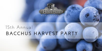 Bacchus Winemaking Club 15th Annual Harvest Party