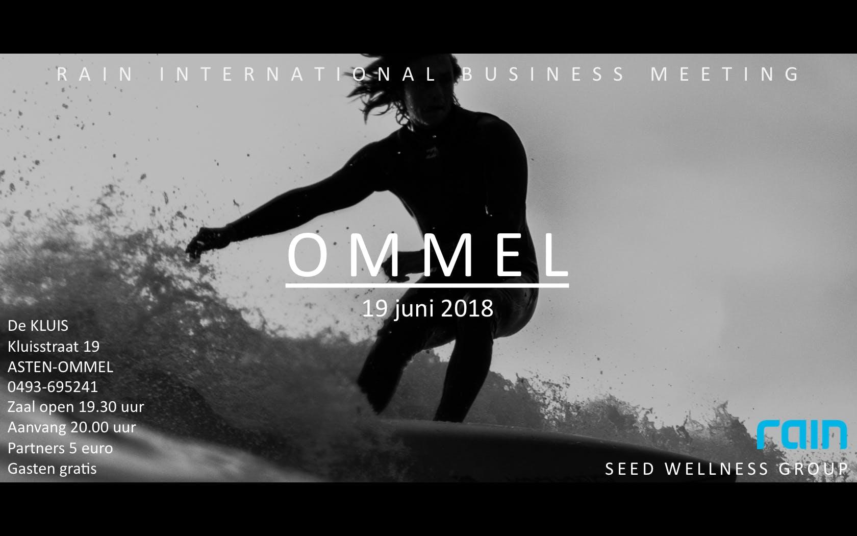Rain International Business Meeting Asten-Omm
