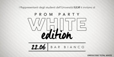 Prom Iulm - White Edition