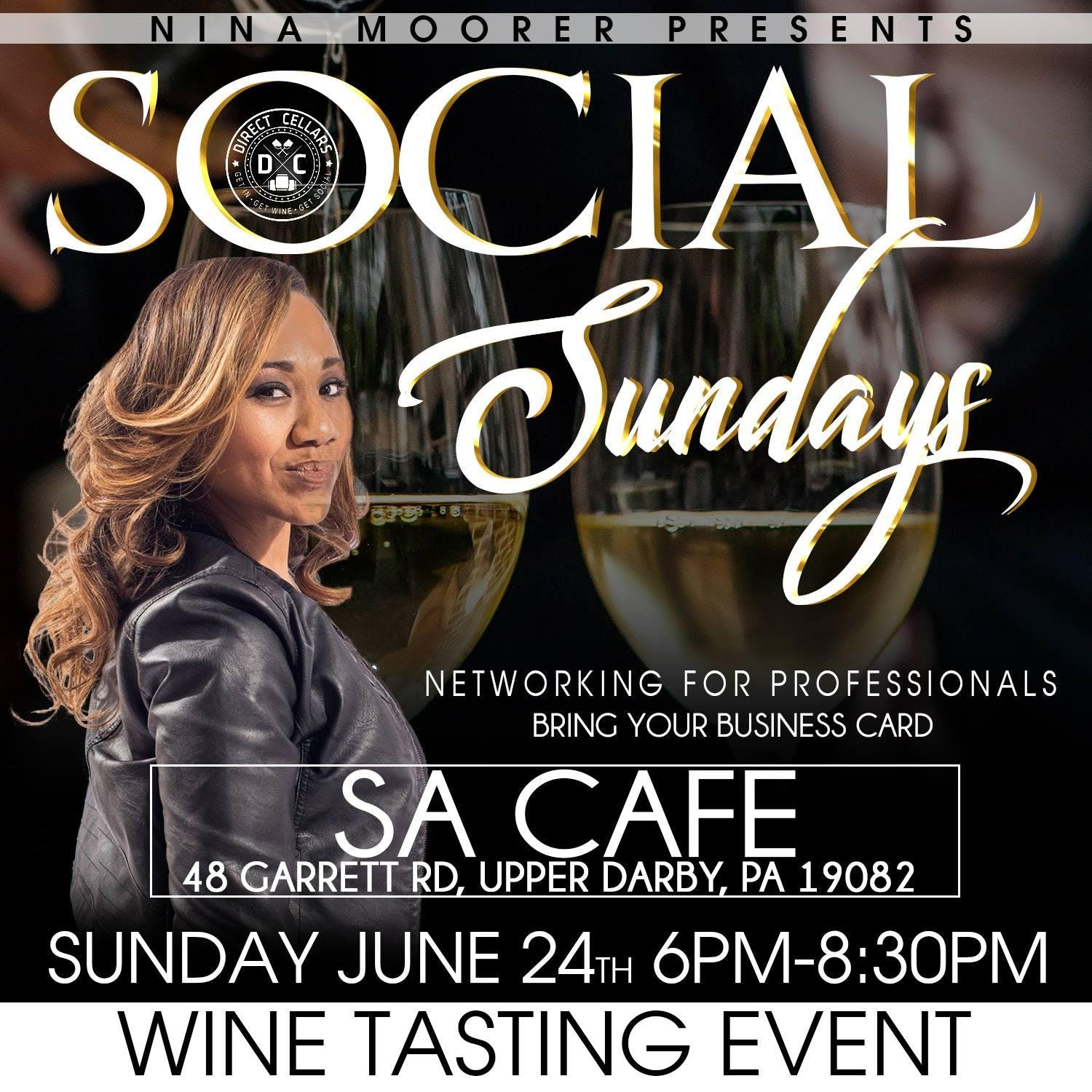 Sunday Social Networking and Wine Mixer