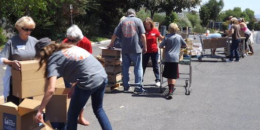 SECOND SATURDAY FOOD DISTRIBUTION