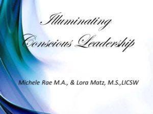 Illuminating Conscious Leadership: Professional Development – A 3 Month Training