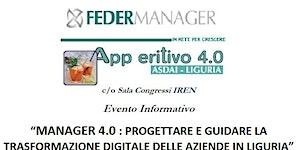 MANAGER 4.0 : PROGETTARE E GUIDARE LA TRASFORMAZIONE...