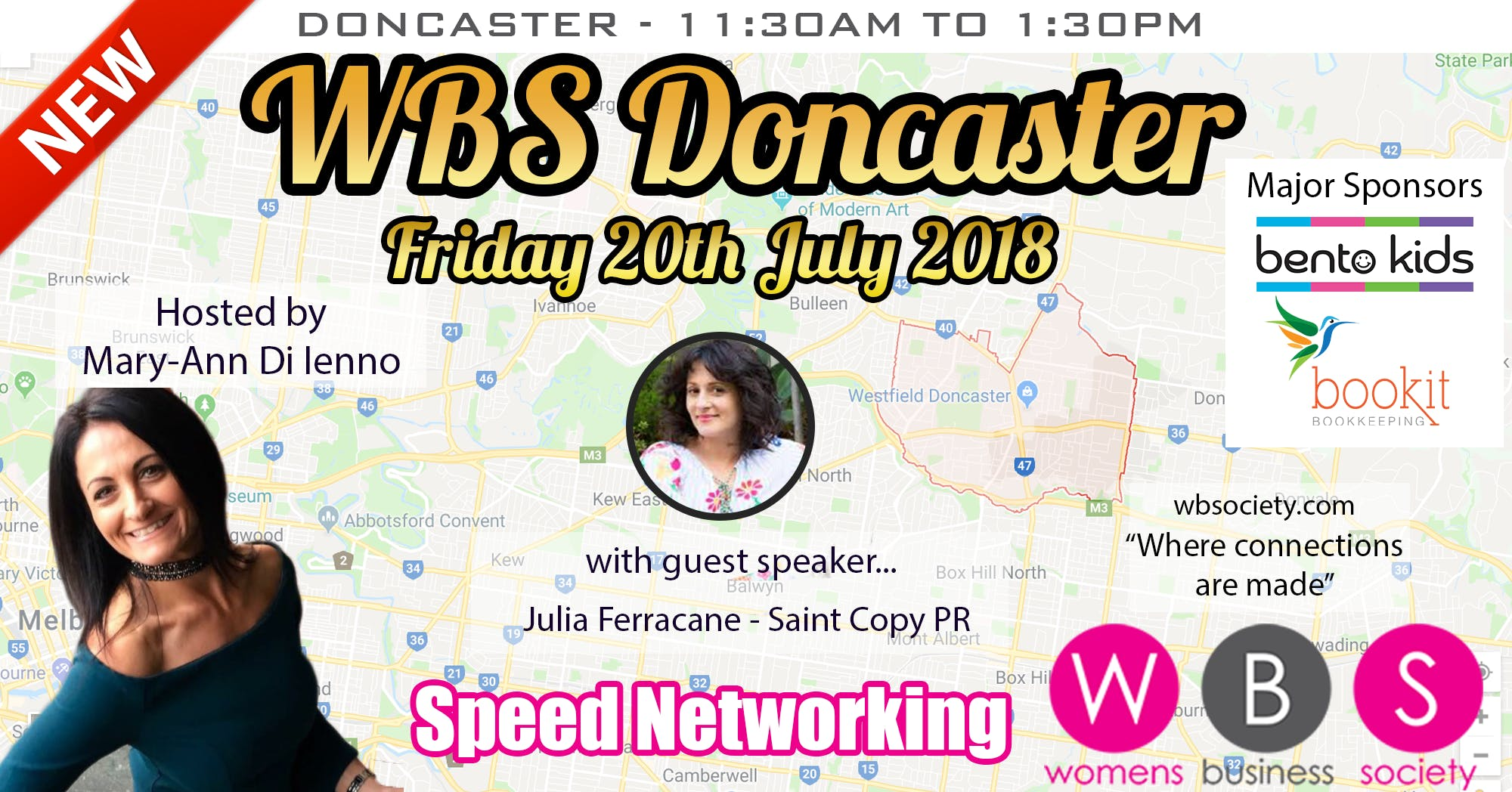 WBS Launch Event Doncaster - 20th July