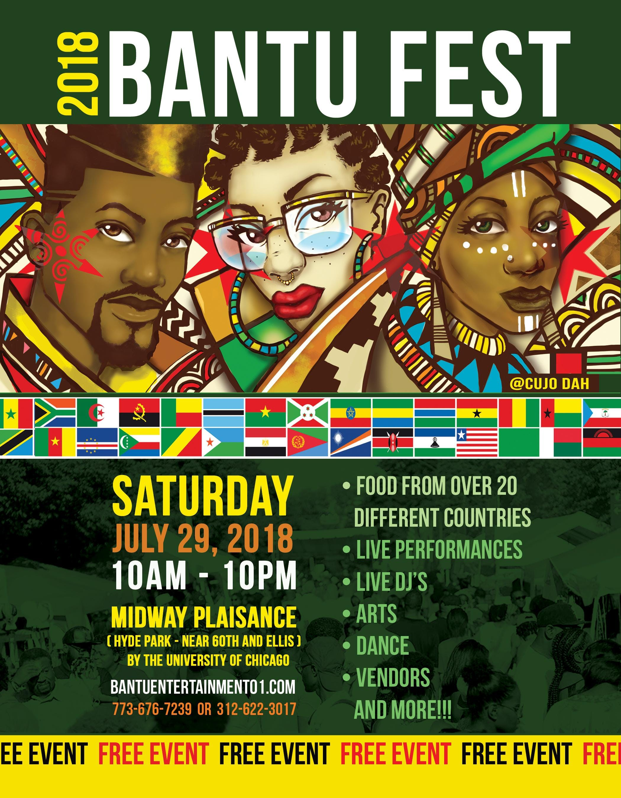 Bantu Fest VIP Package (2018)