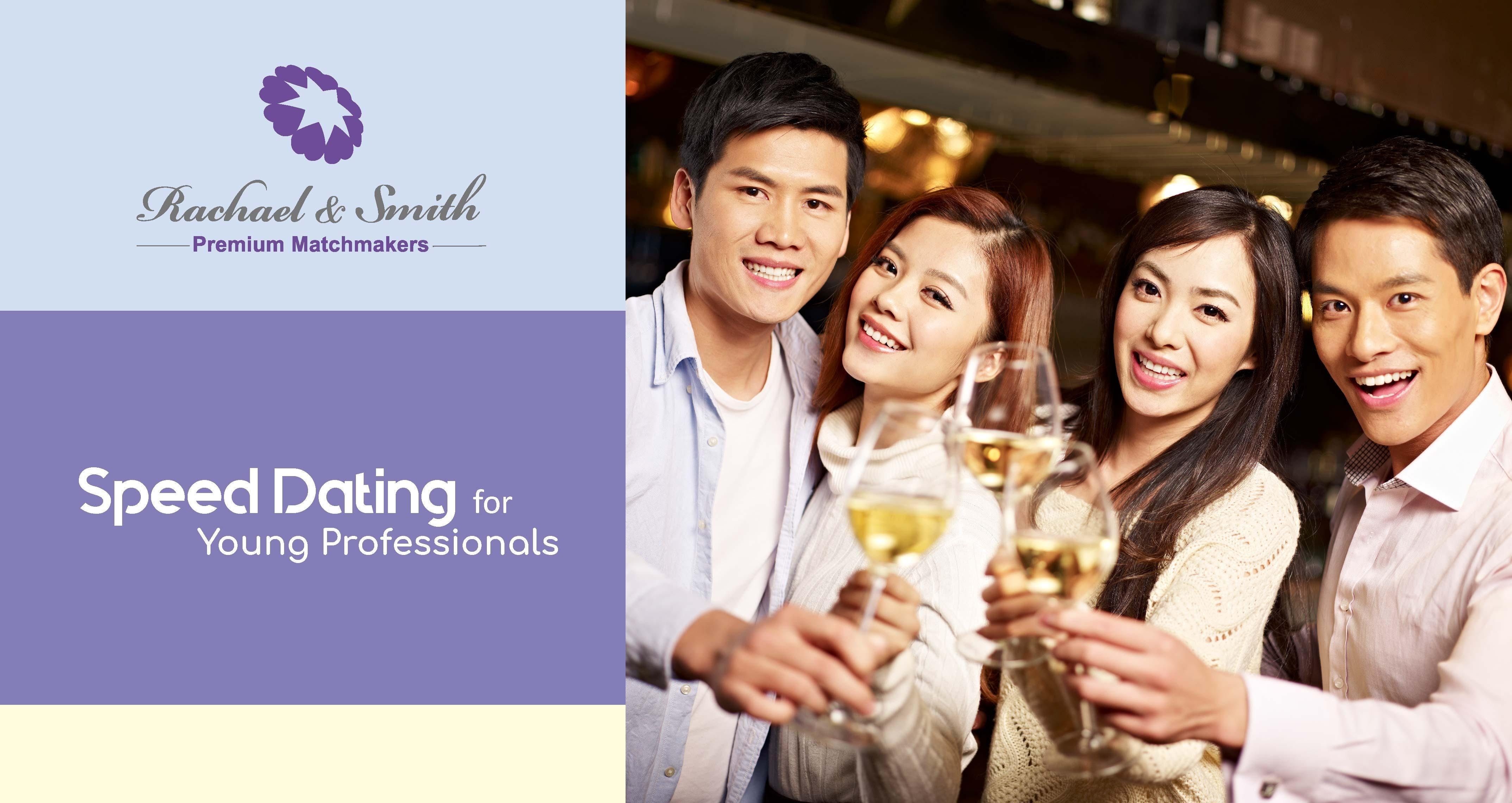 Young professionals speed dating