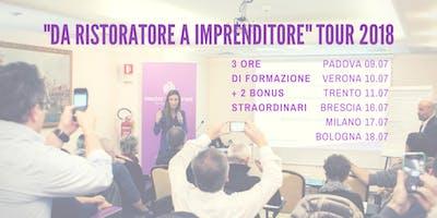 """Seminario """"DA RISTORATORE A IMPRENDITORE"""" Brescia"""