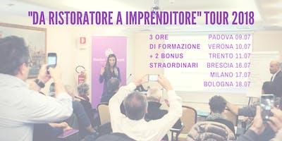 """Seminario """"DA RISTORATORE A IMPRENDITORE"""" Milano"""