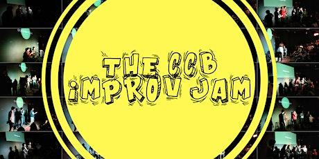 The CCB Improv Jam tickets