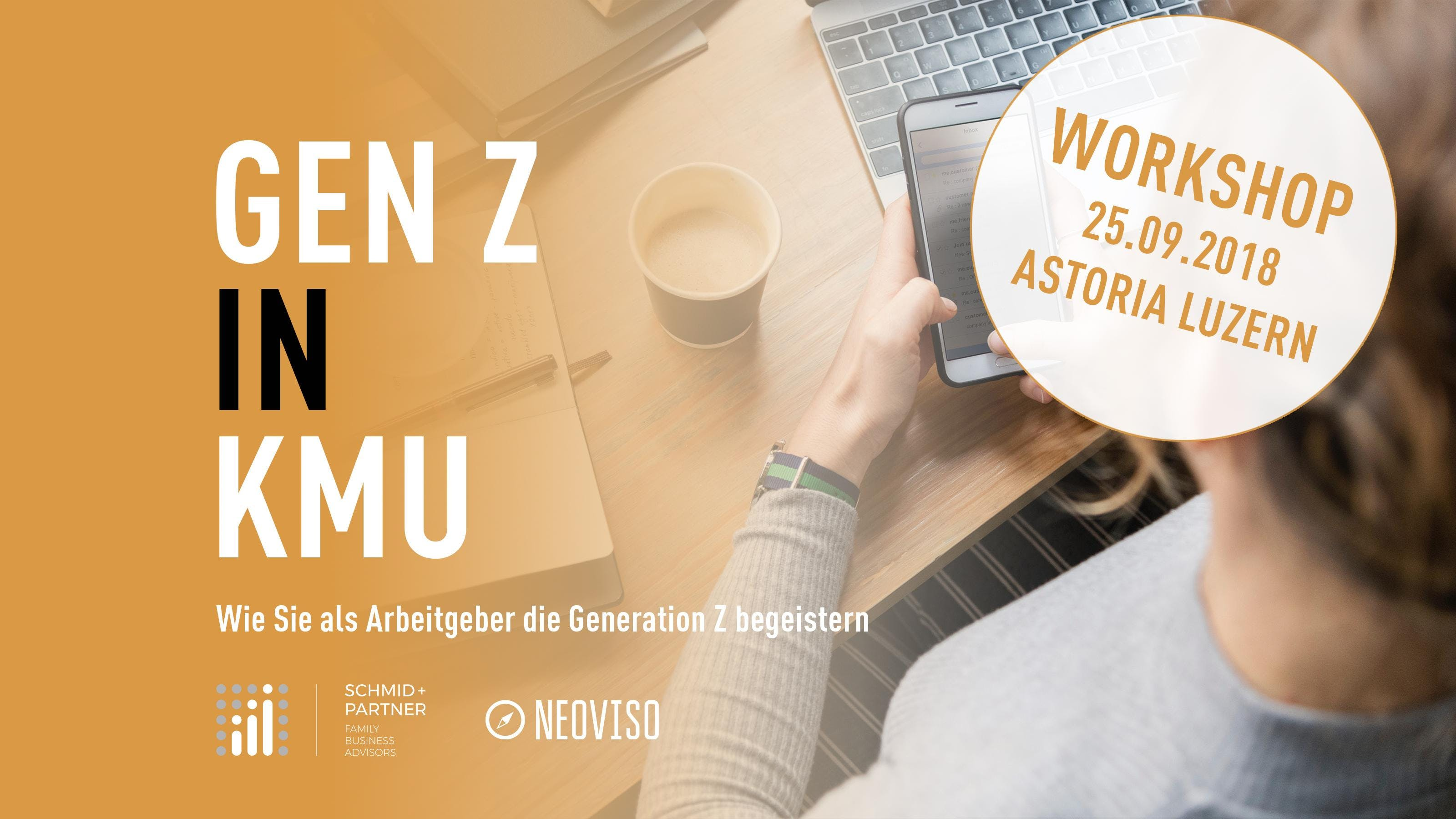 Generation Z in KMU - Wie Sie als Arbeitgeber die junge Generation begeistern (Workshop)