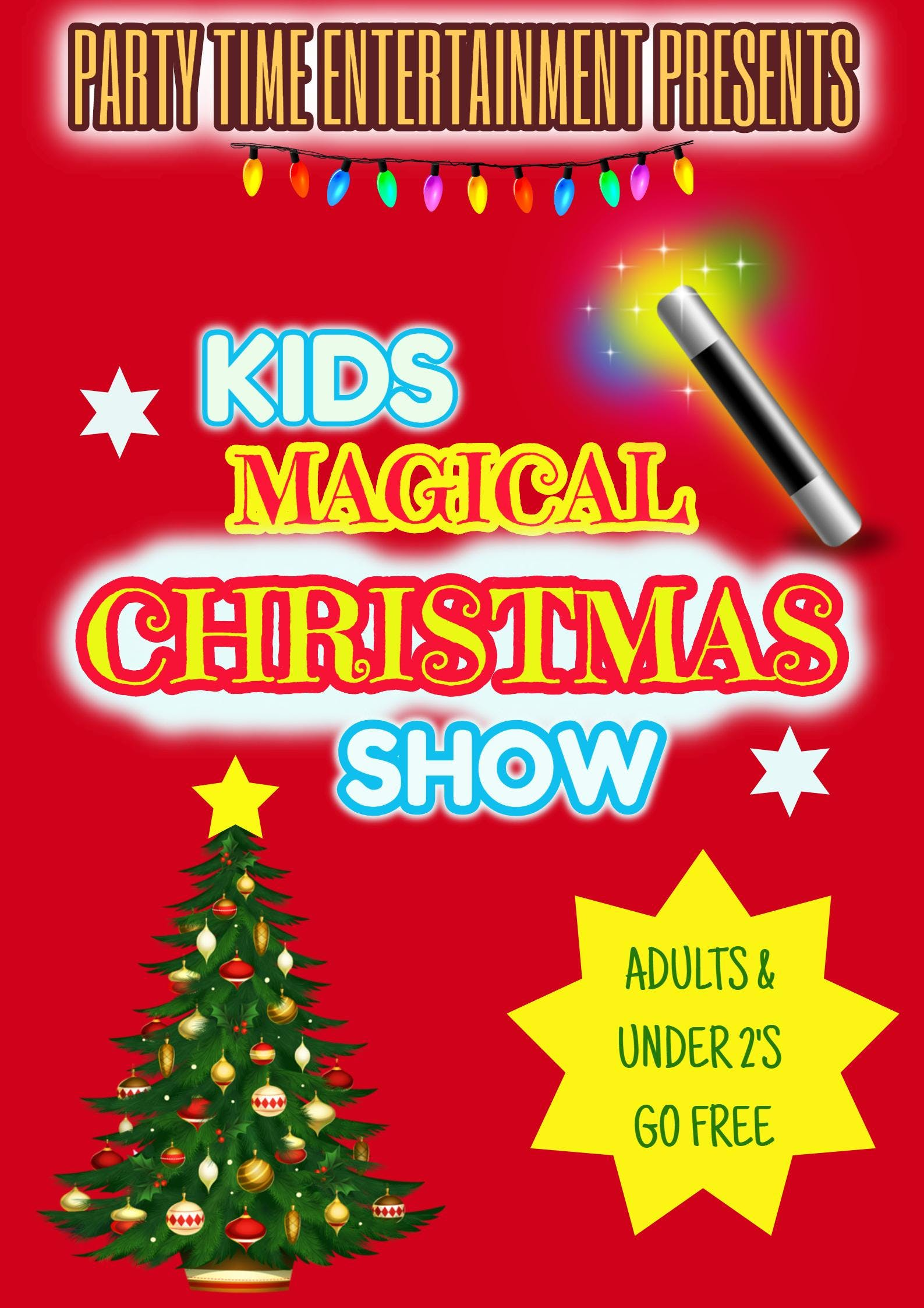 Kids Magical Christmas Show 2018 - Sligo