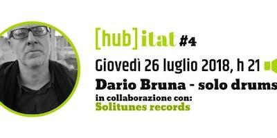 Dario Bruna - solo drums