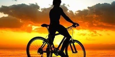 Etna Sunset on Mountainbike