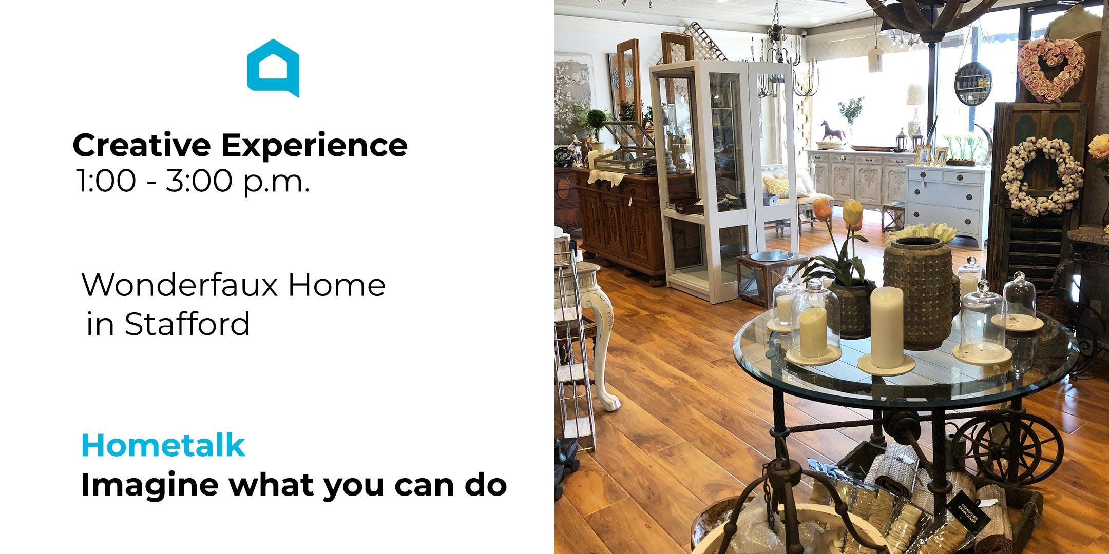 Creative Experience with Hometalk at Wonderfaux Home