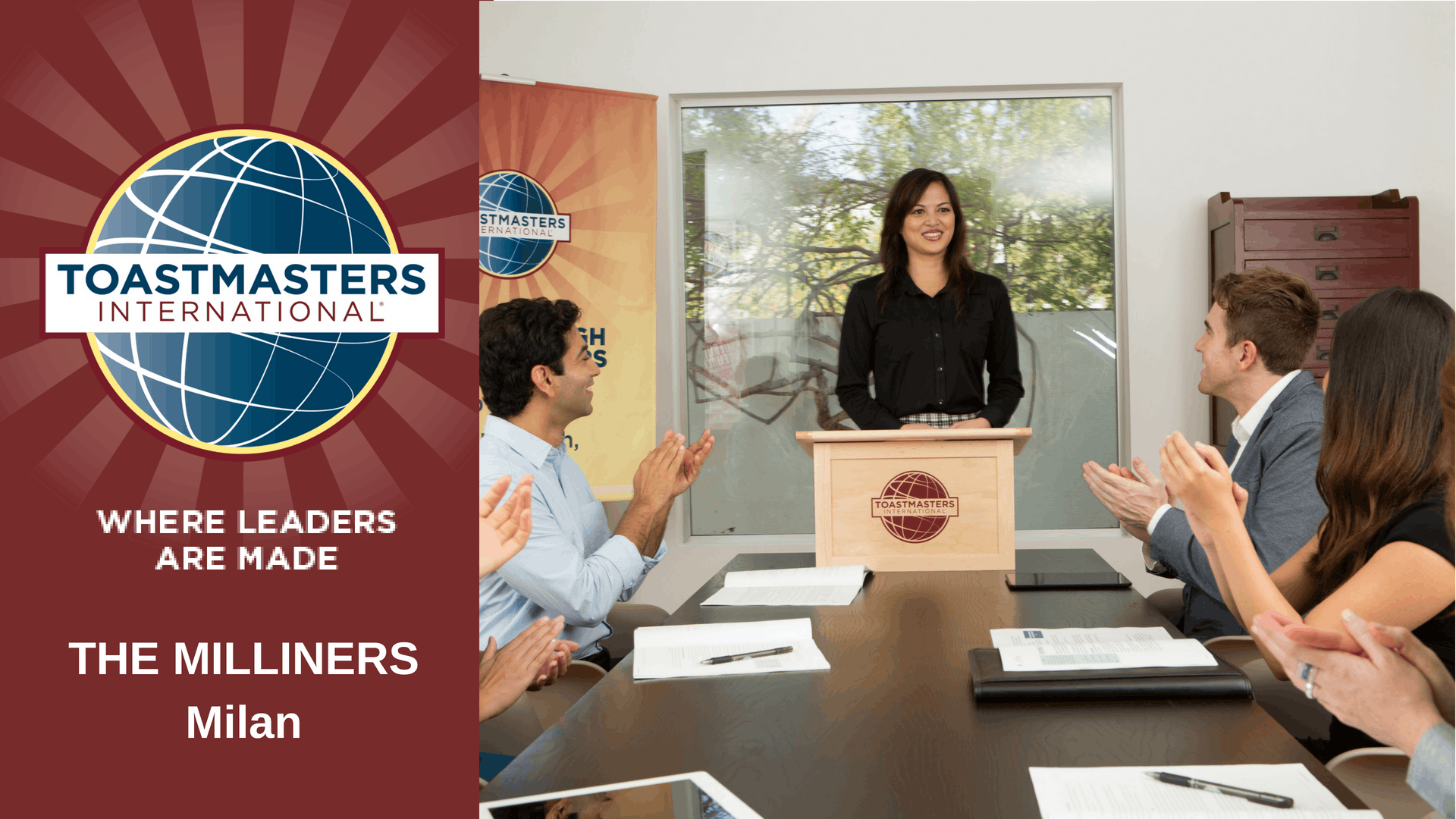 English Public Speaking with The Milliners Toastmasters