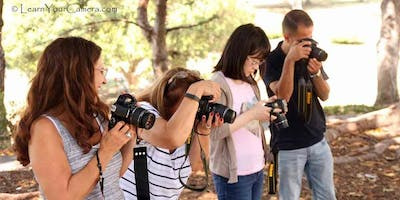 Digital Camera Photography Class in Bakersfield (Get OFF of Auto!)