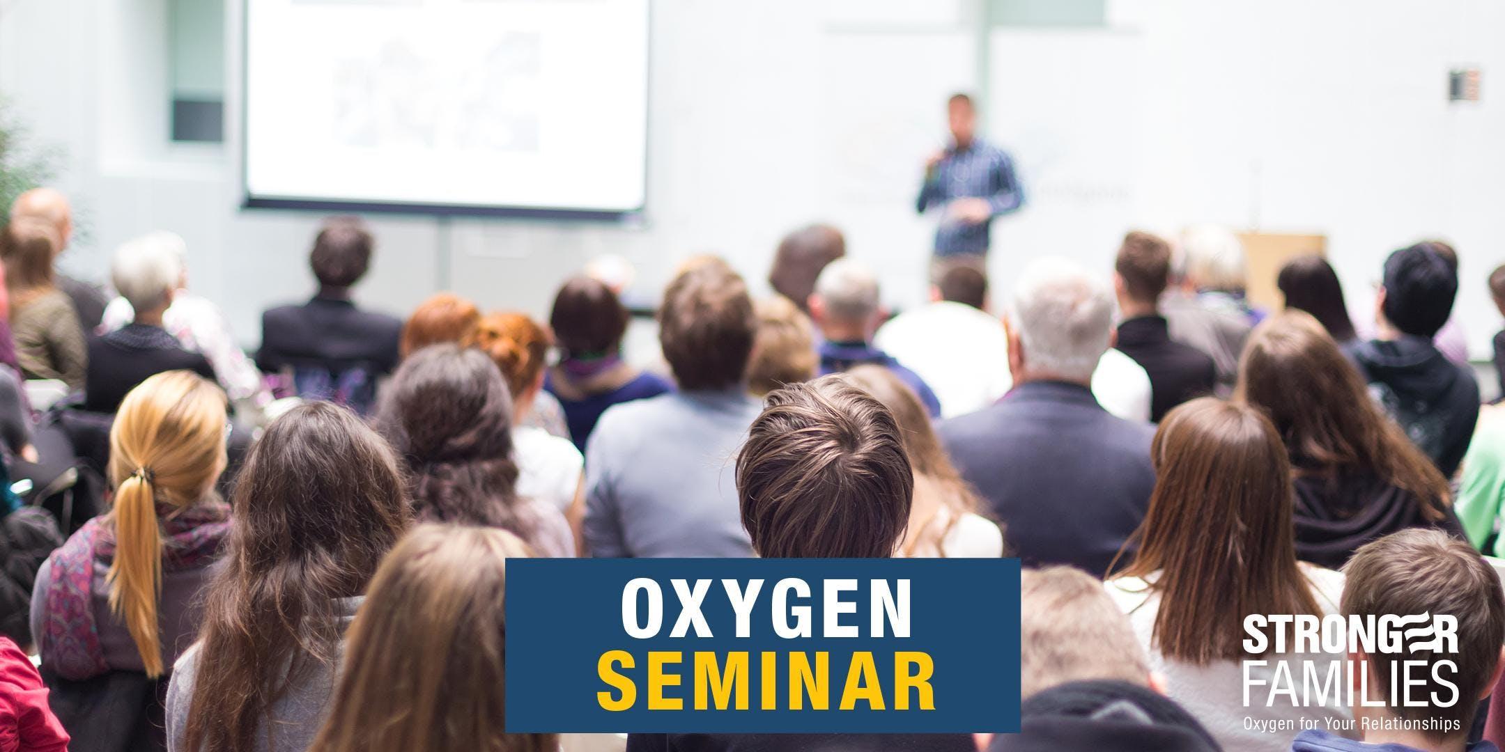 Dayton, OH - OXYGEN Couples Event (Hoffman)
