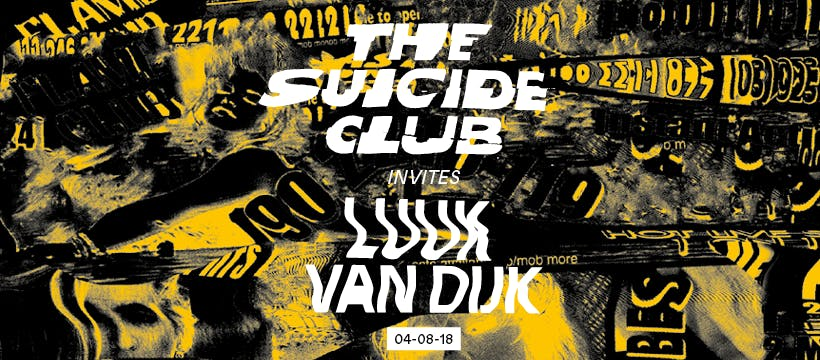 The Suicide Club invites Luuk van Dijk - Earl