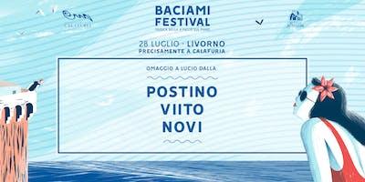 Postino + Viito + Novi • Baciami Festival 2018