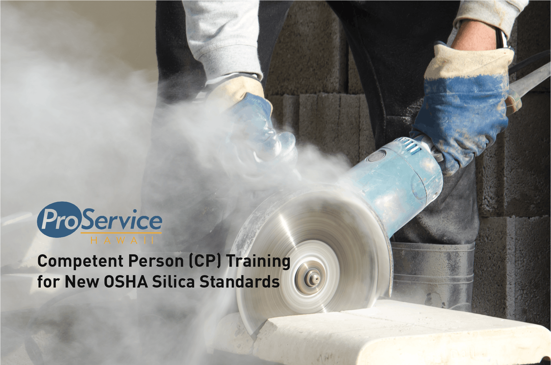 Competent Person Training For New Osha Silica Standards Maui