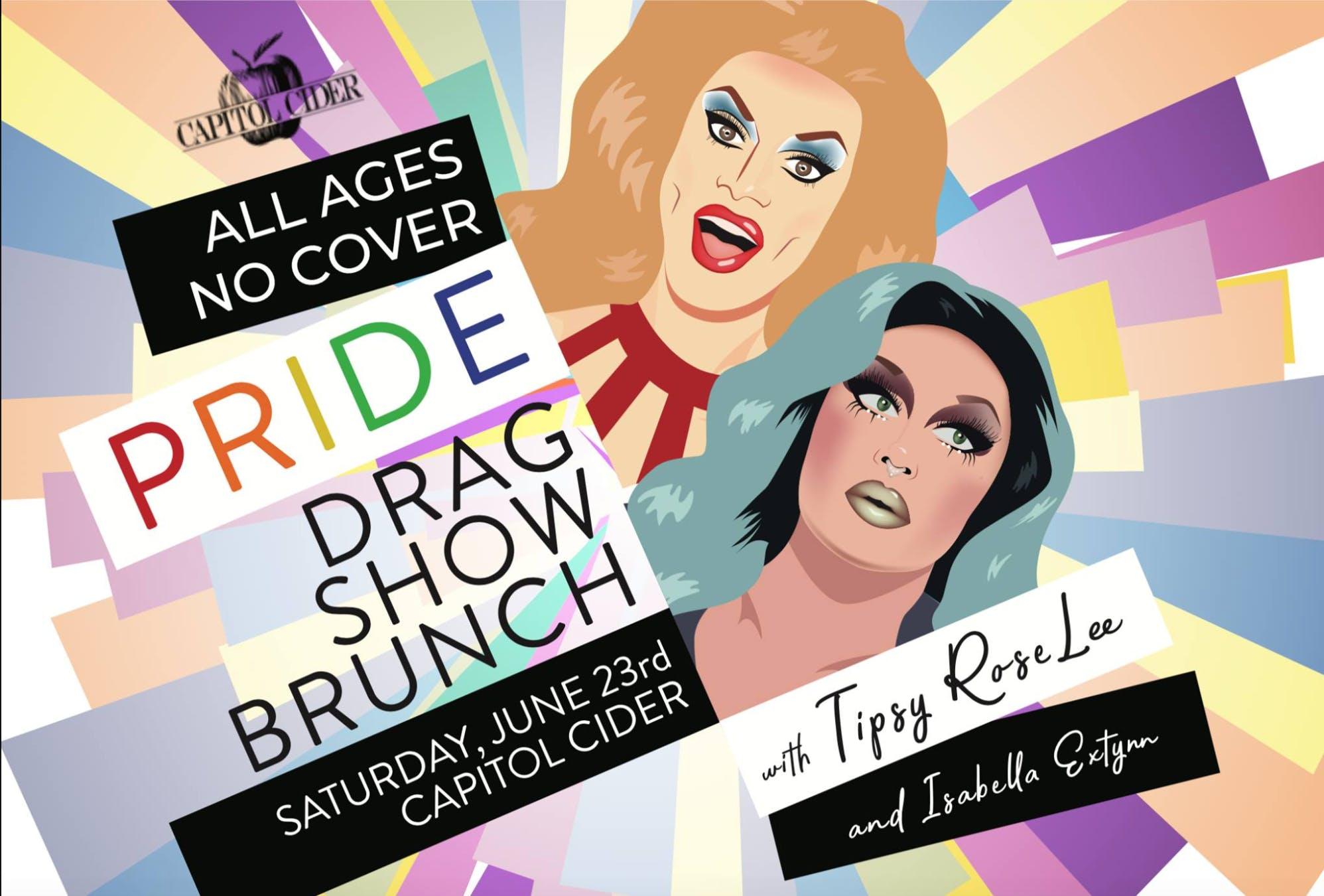 ALL AGES Pride Drag Brunch