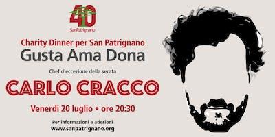 Charity dinner a San Patrignano con lo Chef Carlo Cracco