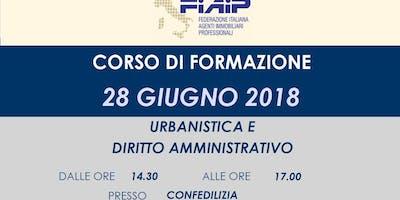 Urbanistica e diritto amministrativo a RE
