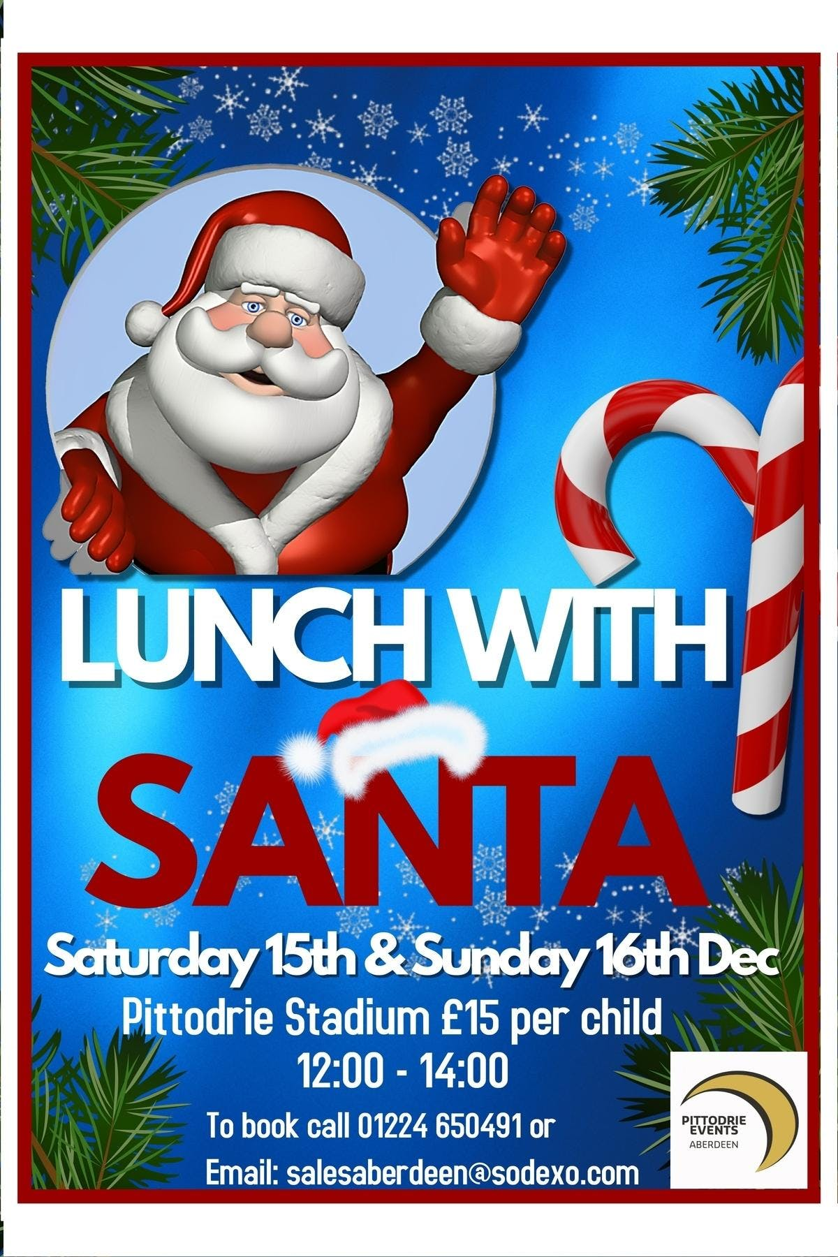 Lunch With Santa  Sunday 16Th December