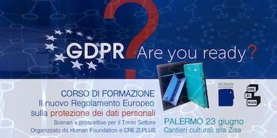 Corso di formazione sulla protezione dei dati personali