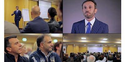 """Workshop """"Dal 20 al 70% di tasse in meno: i segreti della Pianificazione e dell'Escapologia Fiscale"""" + Consulenza Fiscale Gratuita."""